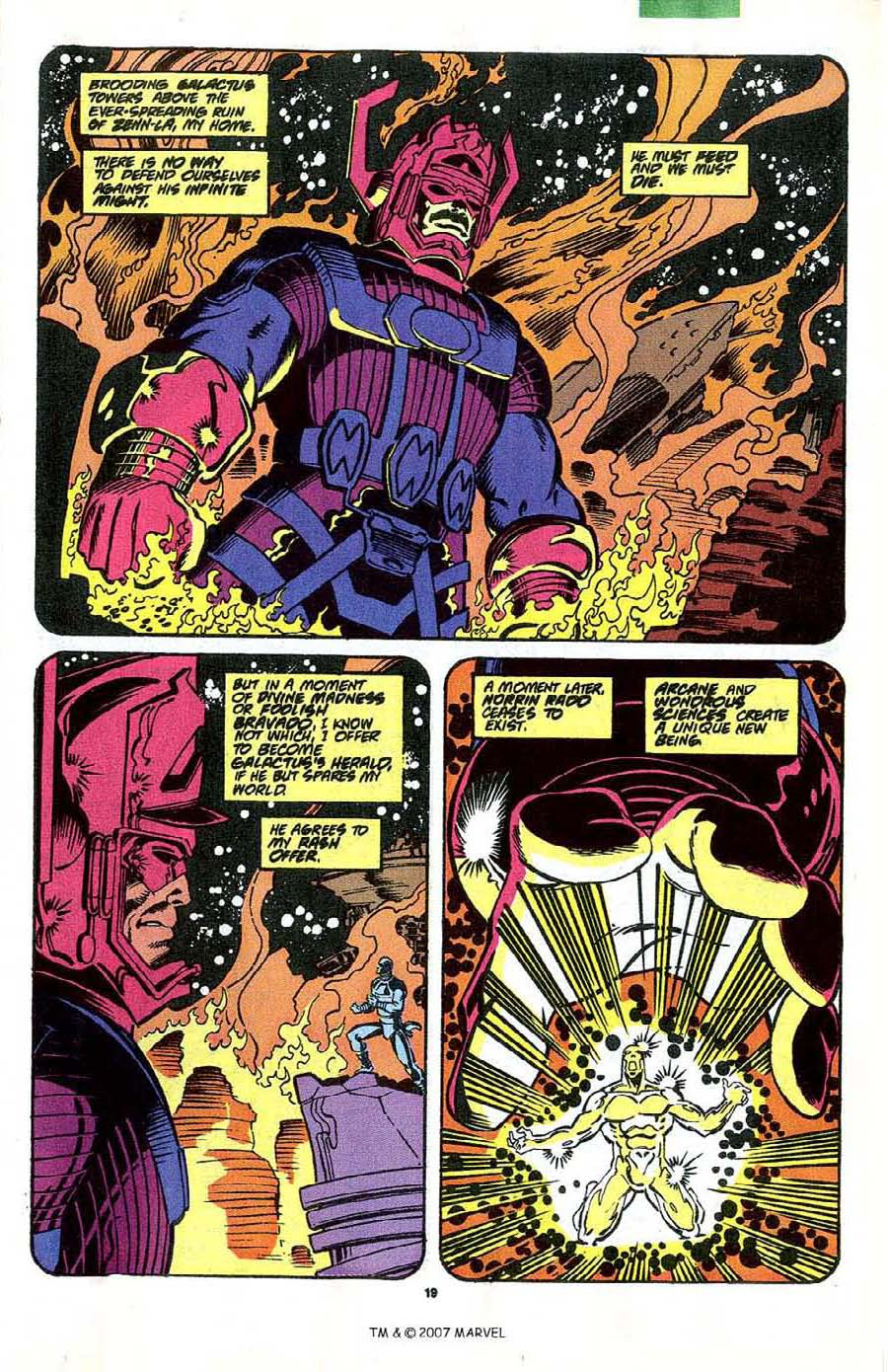 Read online Silver Surfer (1987) comic -  Issue #41 - 21