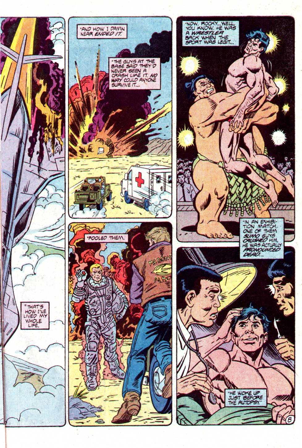 Read online Secret Origins (1986) comic -  Issue #12 - 26