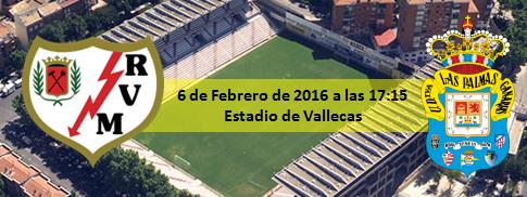 Previa Rayo Vallecano - UD Las Palmas. Estadio de Vallecas