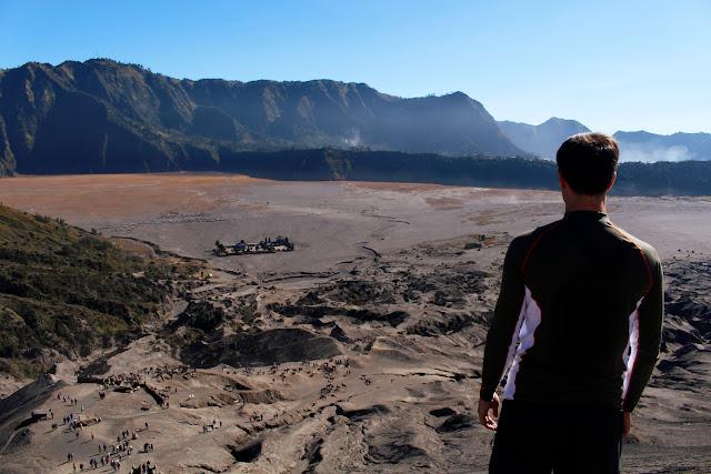 El mar de arena desde el Monte Bromo