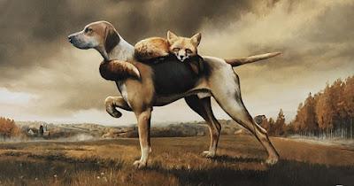 Chó yêu Hồ ly sâu nặng