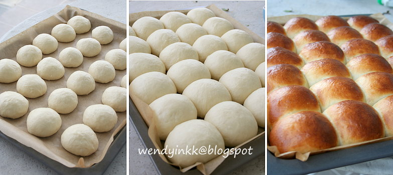 Table for 2.... or more: Japanese Cream Buns - Plain Rolls # 1