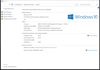 Serial Number Windows 10  32 bit dan 64 bit Update Agustus 2016