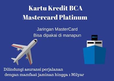 Gambar Ilustrasi keuntungan Travelling dengan Kartu Kredit BCA Mastercard Platinum