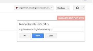 Cara Membuat Sitemap / Peta Situs di Google Webmaster Tools