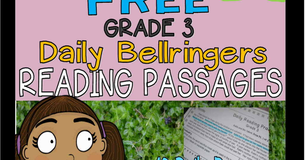 Literacy & Math Ideas: (Free) Two Weeks of Grade 3 Daily