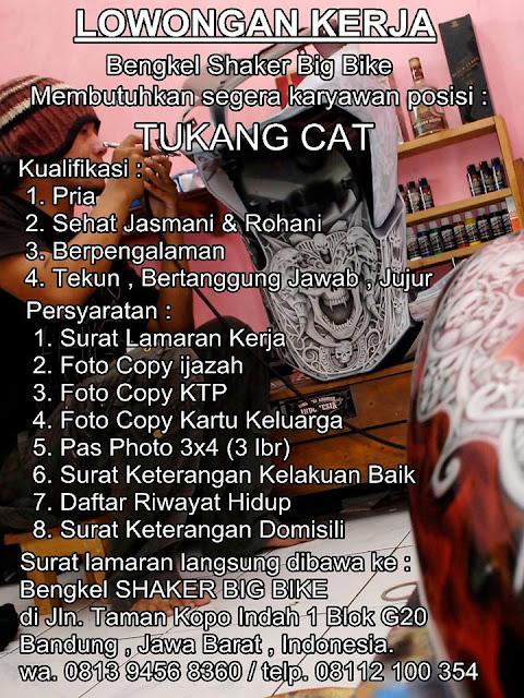 Loker Tukang Cat di Bandung