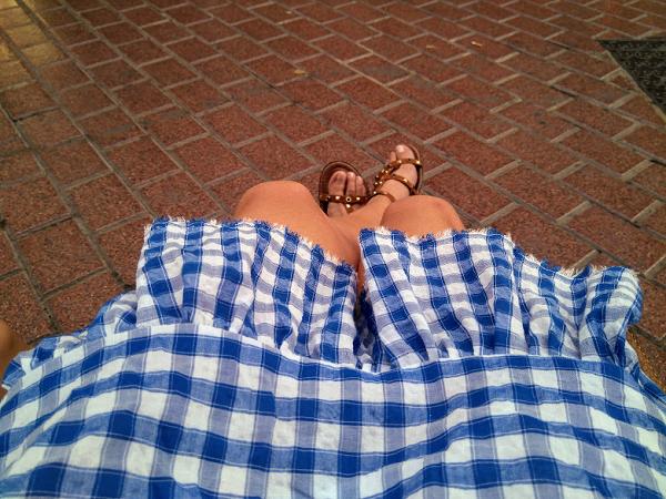 falda cuadros vichy diy