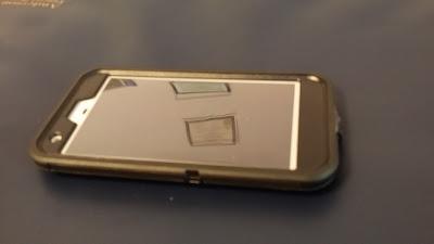Otter Box Defender Pixel XL Case - Black - Front View