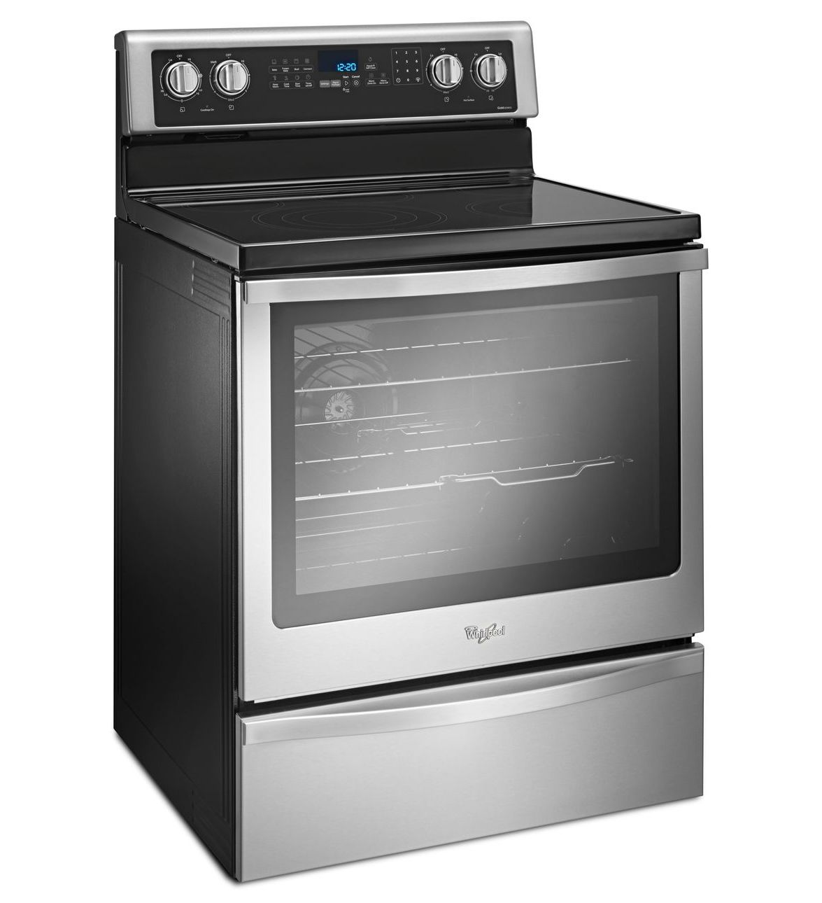 Whirlpool Stove Stainless Steel Model #WFE745H0FS