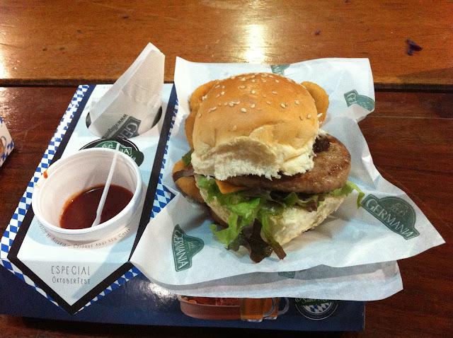 Burger Premium de Pato.