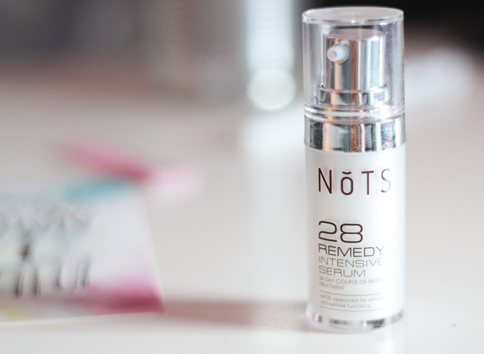 NoTS 28 Remedy intensive serum review