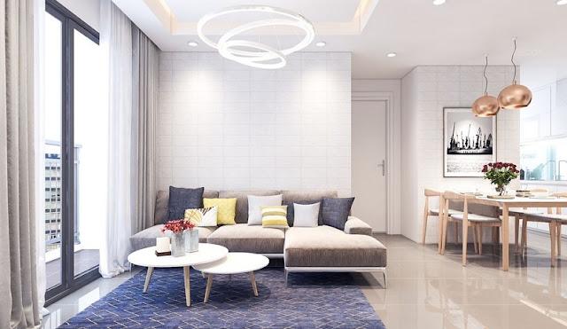 Thiết kế căn hộ 68m2 hiện đại được ưa chuộng nhất năm 2018 - H1