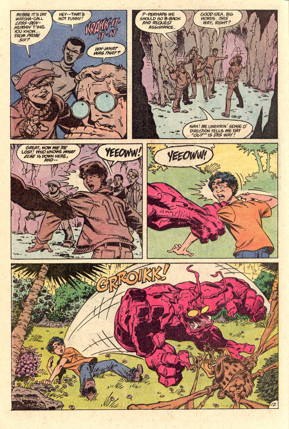 Read online Secret Origins (1986) comic -  Issue #49 - 17