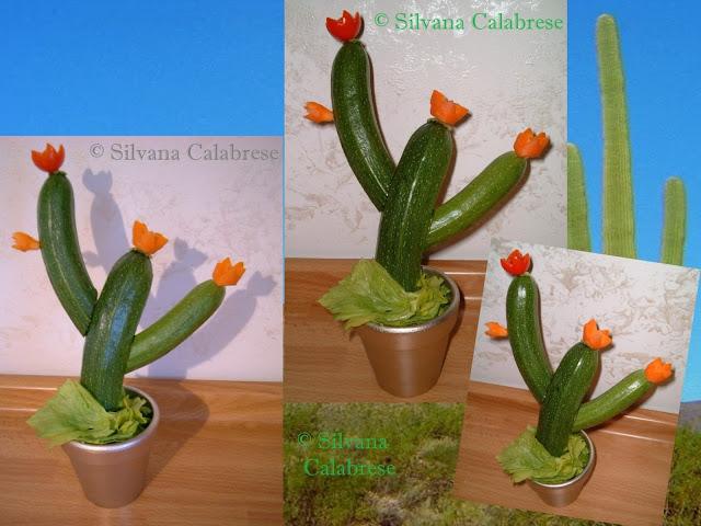 Cactus del deserto con le zucchine Silvana Calabrese - Blog