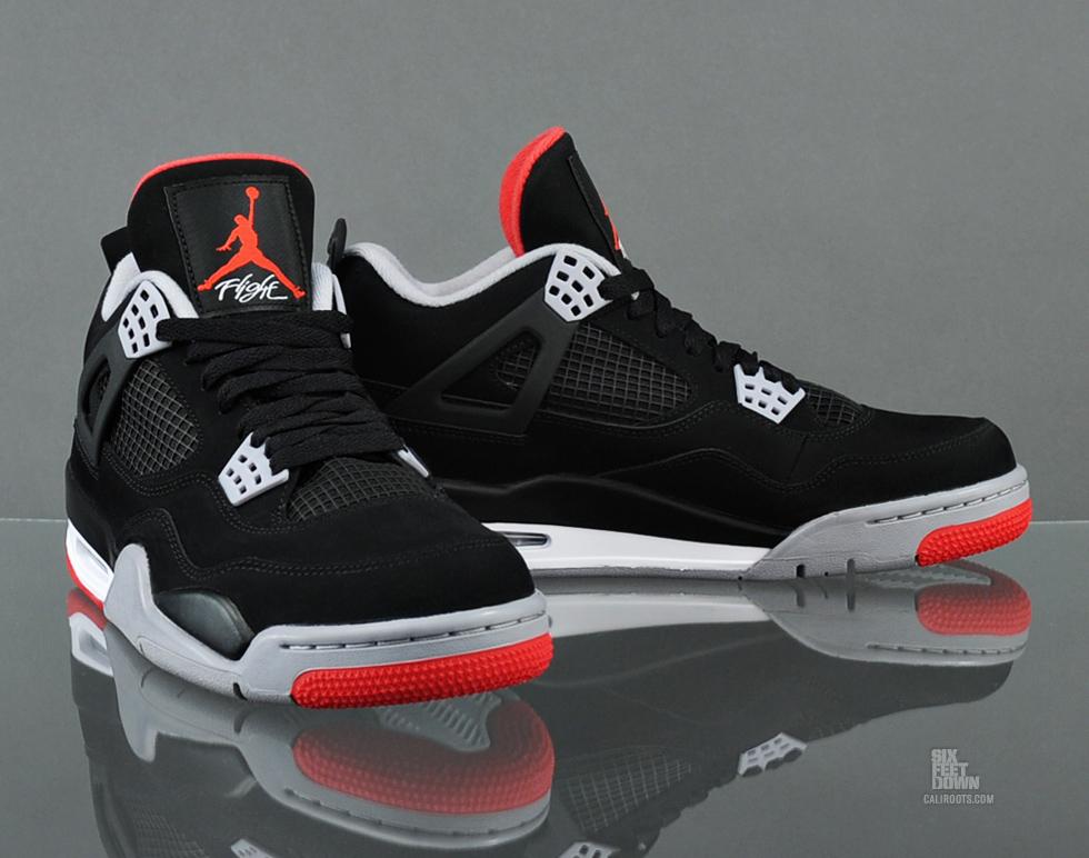 Six Feet Down: Air Jordan 4 BRED Midnight Release Info