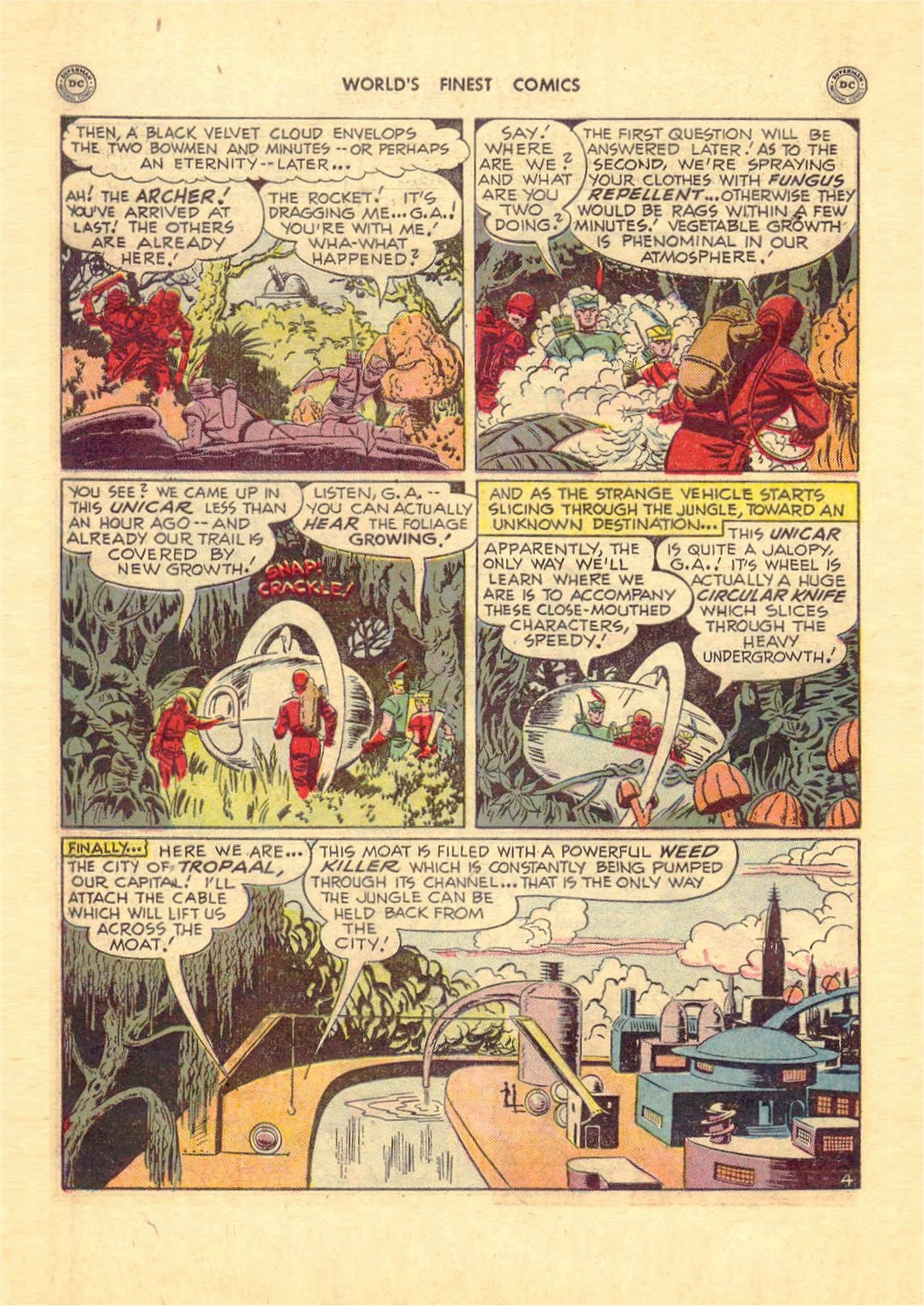 Read online World's Finest Comics comic -  Issue #52 - 44