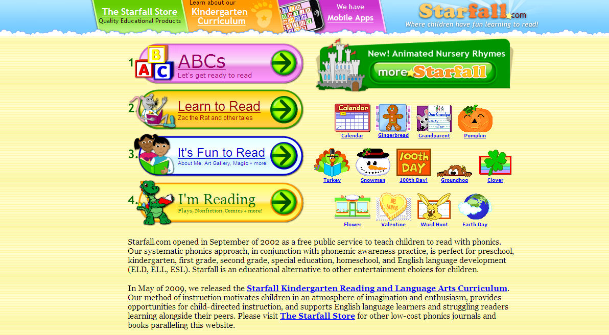 HOMER - Proven Learn-to-Read Program for Kids 2-8 - Apps ...