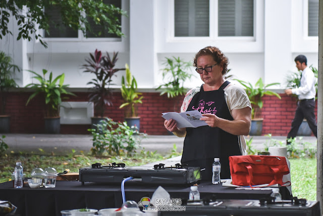 Thai Cooking Class at The Royal Thai Embassy with Chef Korn