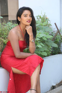 Mamatha sizzles in red Gown at Katrina Karina Madhyalo Kamal Haasan movie Launch event 012.JPG