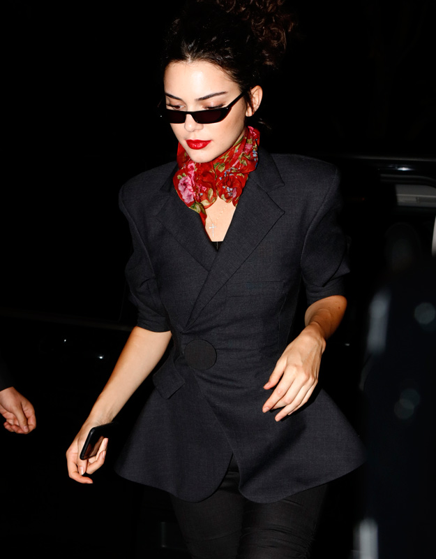 Kendall Jenner Cat Eye Sunglasses Canes