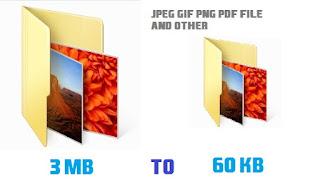 cara mudah kurangi ukuran kilo byte foto pdf word