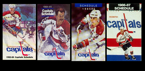 POCKET SCHEDULES: 1983-1986