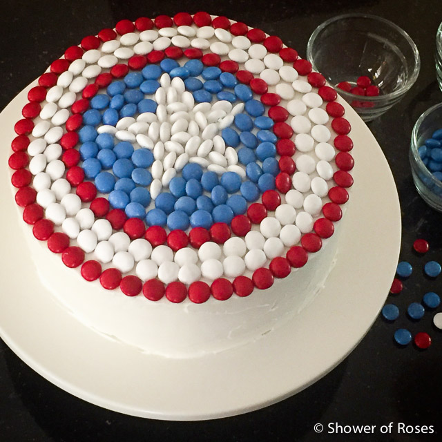 Tremendous Shower Of Roses Captain Americas Shield An Avenger Themed Funny Birthday Cards Online Elaedamsfinfo