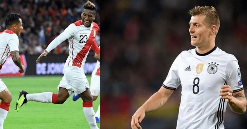 EN VIVO: PERÚ Vs. ALEMANIA - Canales y Hora que transmitirán partido amistoso - ONLINE (1:45 PM) FIFA 2018