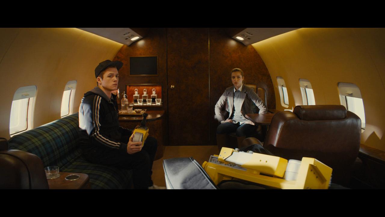 Kingsman: El Servicio Secreto (2014) UNRATED BRRip 720p Latino-Ingles captura 4