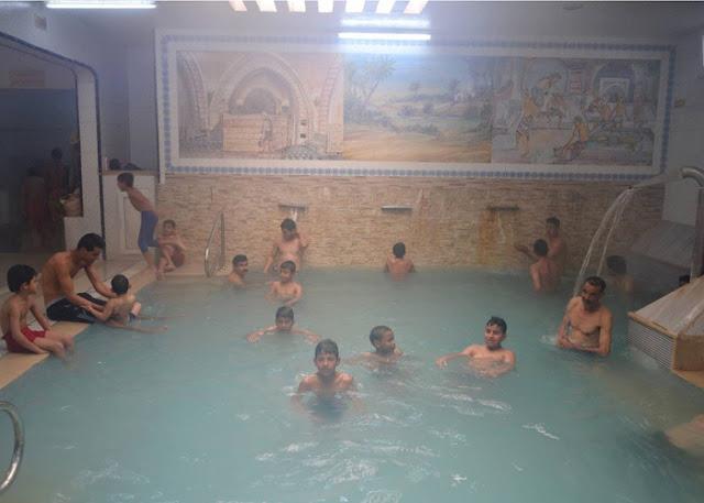 حمامات الحامة قبلة السياح التونسيين والأجانب