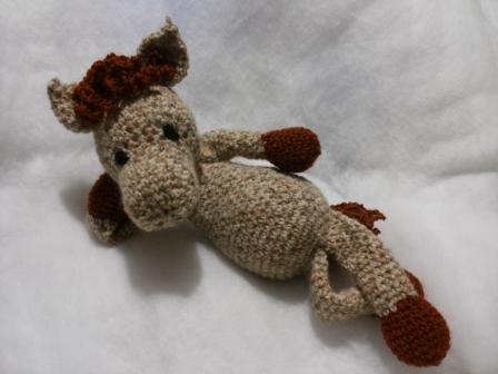 Cavallo AMIGURUMI Little amigurumi italian horse handmade creation ... | 336x448