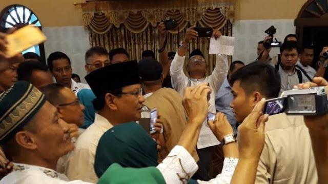 Relawan se-Solo Raya Siap Menangkan Prabowo di Basis Suara Jokowi