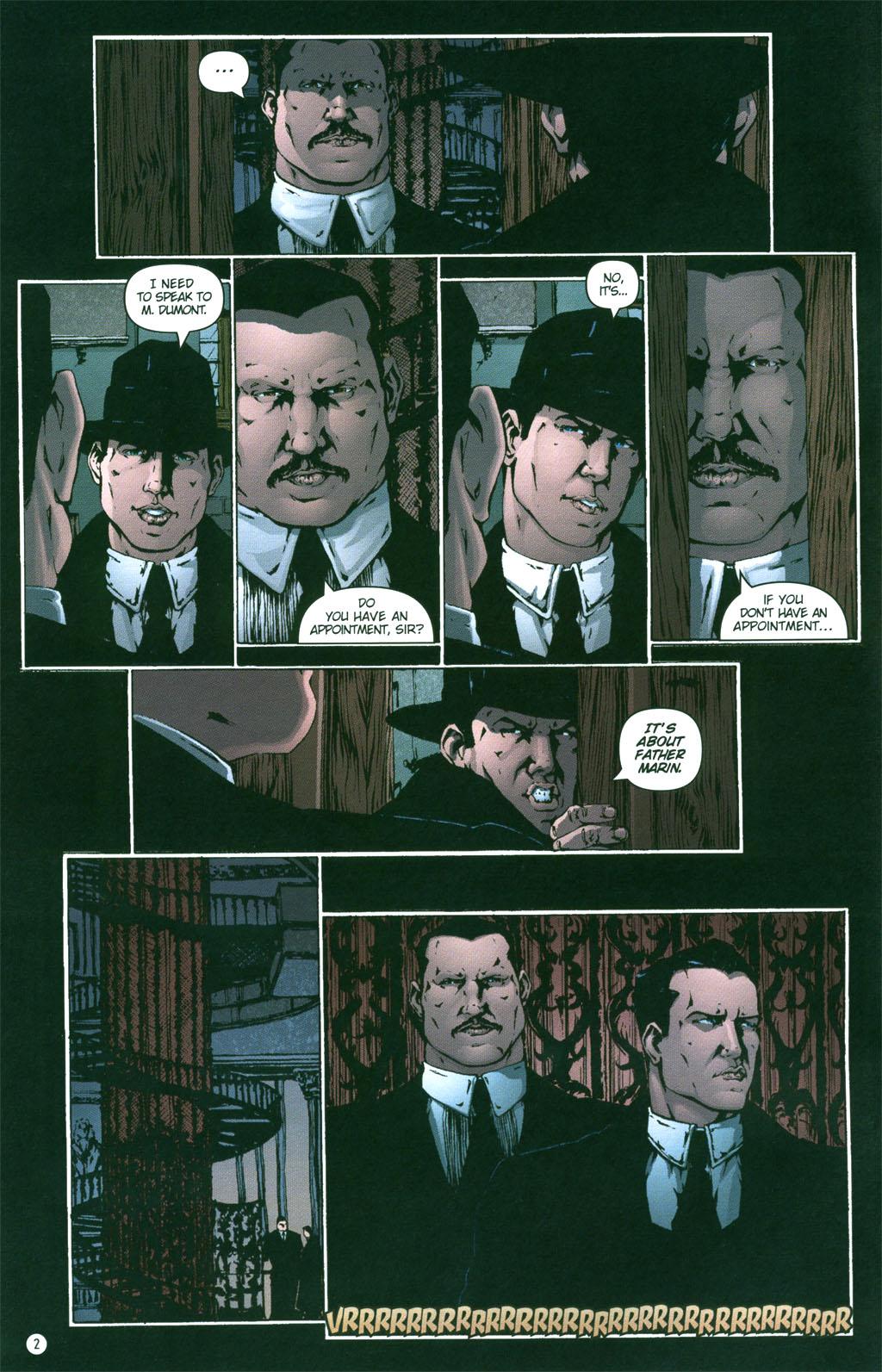 Read online Rex Mundi comic -  Issue #4 - 4