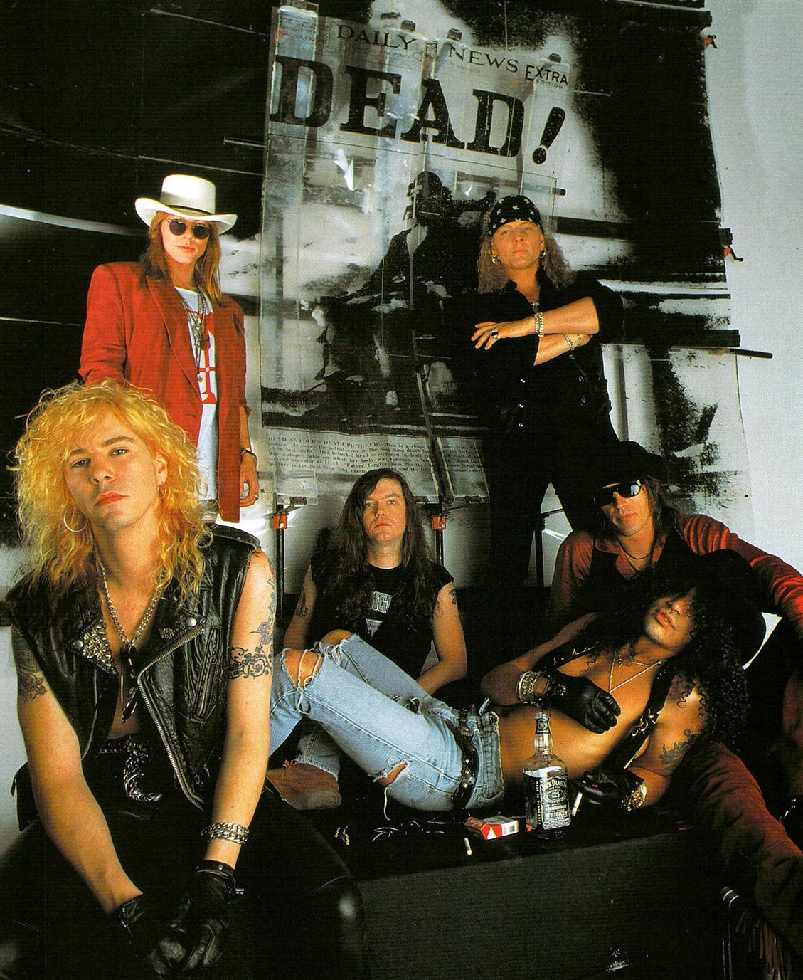 hennemusic: Guns N' Roses reunion rumours heat up