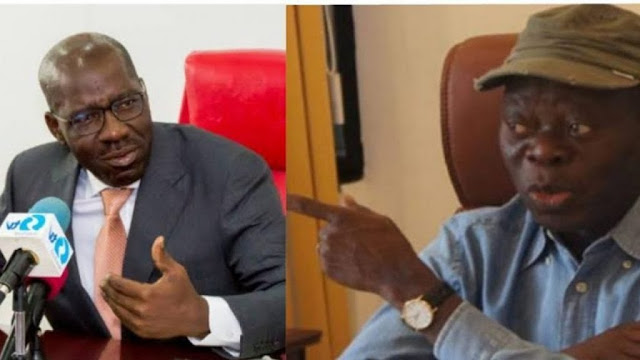 Drama as Oshiomhole, Obaseki meet in Aso Rock