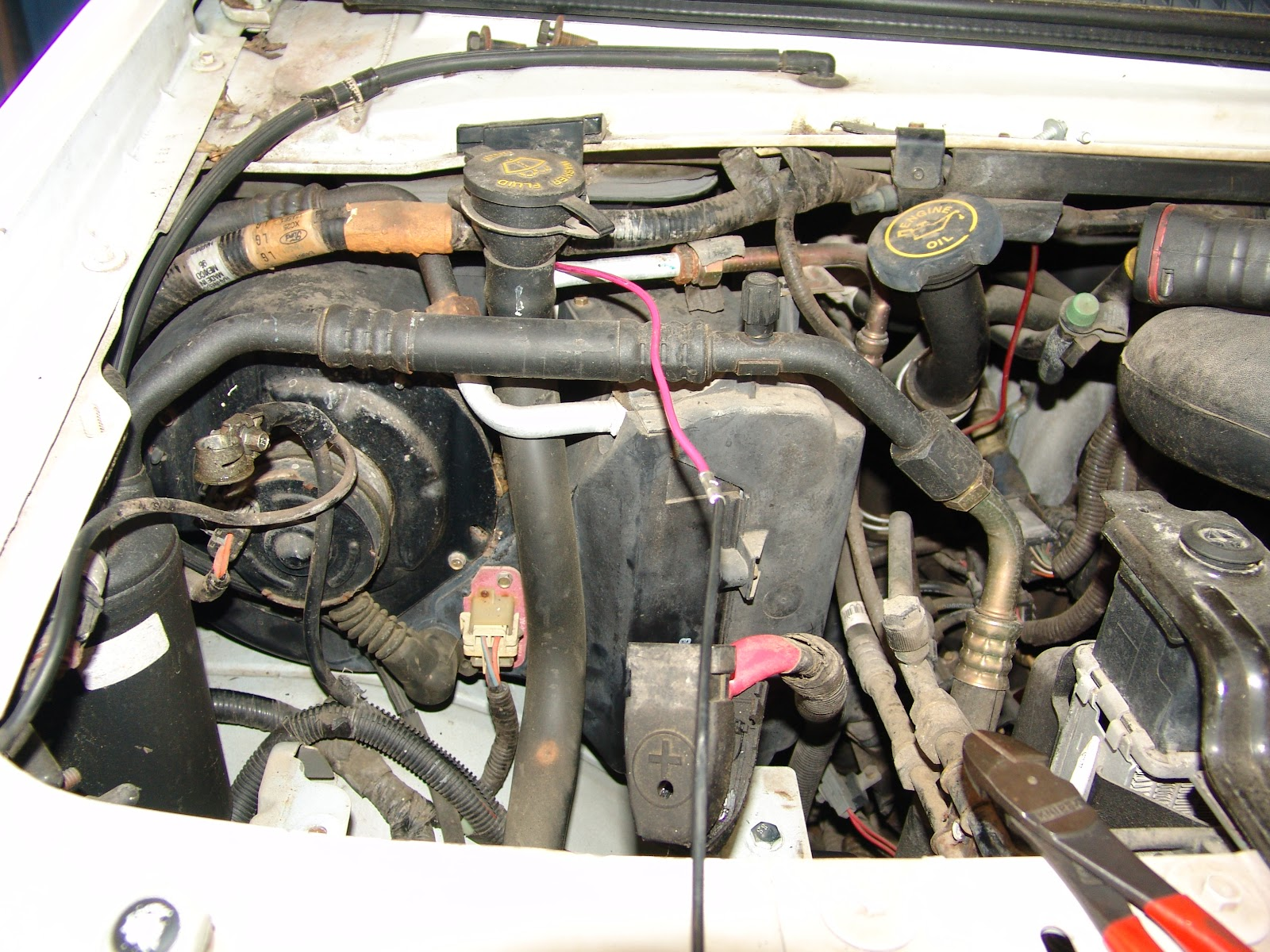Used Ford Taurus >> 1999 Ford E150 Air Only Blows Out The Defroster Vents