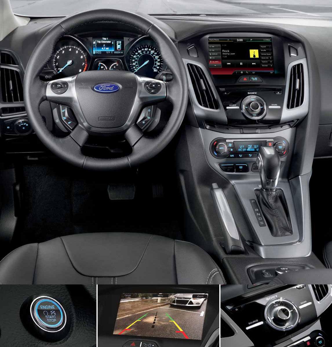 Ford Focus Titanium 2013 Interior Ford Focus Review