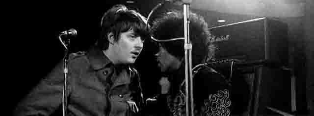 Jimi Hendrix y Chas Chandler