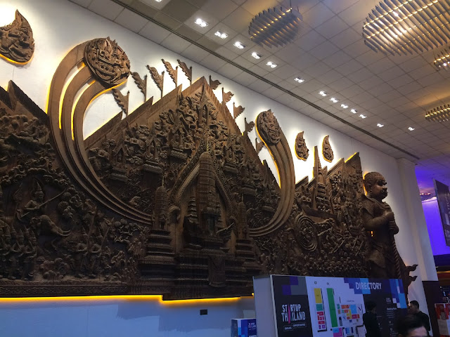 Great entrance of Startup Thailand
