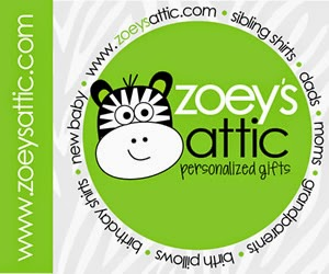 zoey's attic personalized gifts review and giveaway
