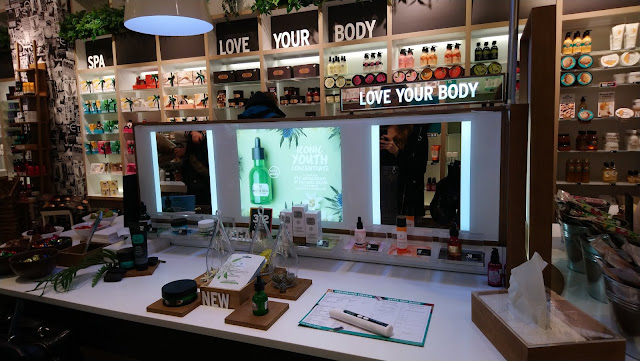 An evening at The Body Shop - Hydration Station