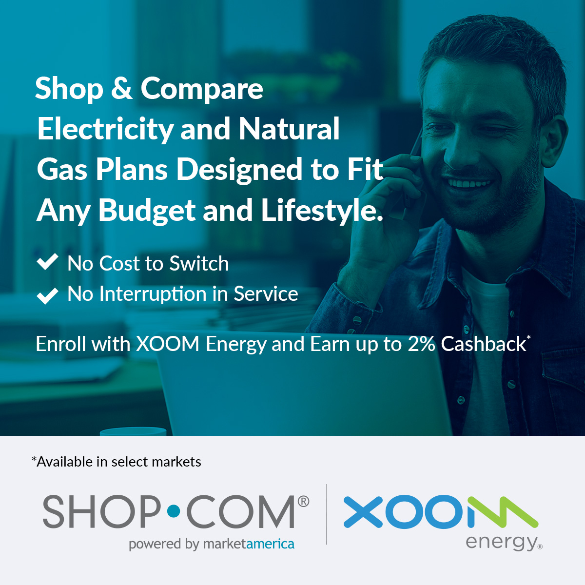 Introducing XOOM Energy w/ SHOP-COM