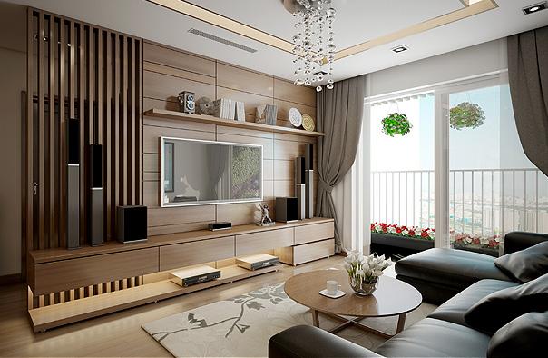 nội thất chung cư florence