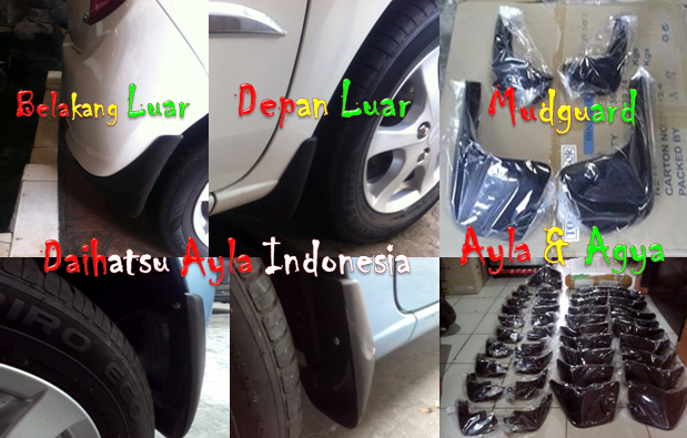Mud Guard Ayla Agya