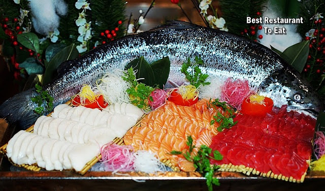 SHOOK! KL - Christmas Buffet Dinner - Sashimi Selection