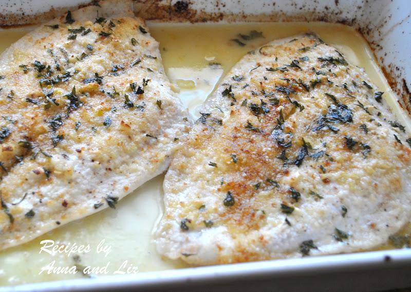 Baked Flounder Filet Oreganata Lightened 2 Sisters Recipes By