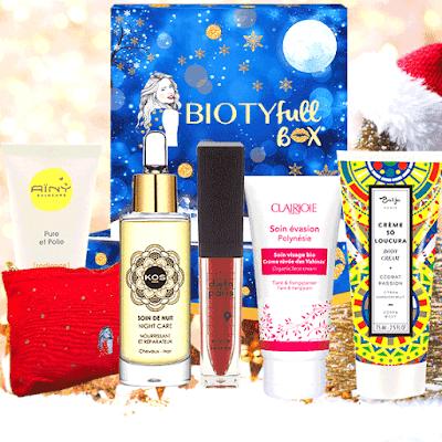 "Biotyfull Box de Décembre 2018 ""La Festive"""