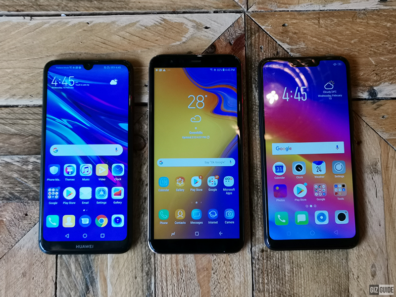 Huawei Y6 Pro 2019 vs Samsung Galaxy J4+ vs OPPO A3s - A new budget champ!