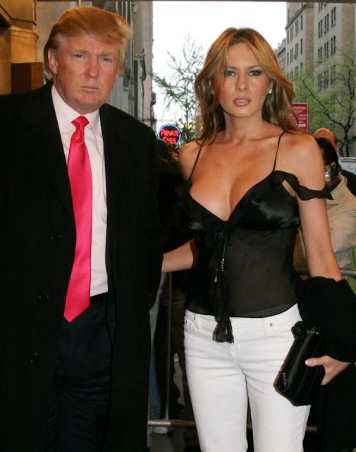 Profil Biodata Melania Trump, Istri Donald Trump